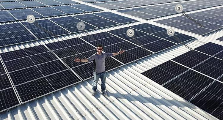 half cut cells solar panels energy system