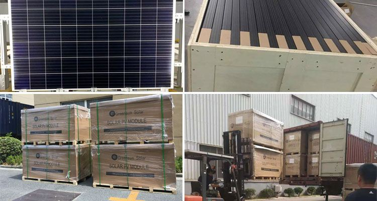 FULL SQUARE SOLAR PANEL PACKAGE