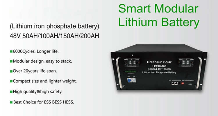 lithium ion battery 48v 1000ah