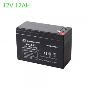 agm battery 12ah