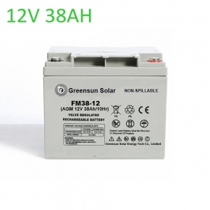 agm battery 38ah