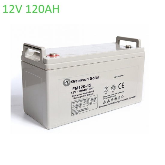 agm battery 120ah