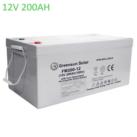 agm battery 200ah