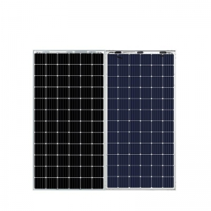 Bifacial PERC Double solar modules