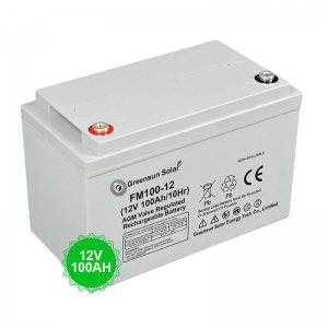 Solar Battery Storage 12v 100ah Deep Cycle