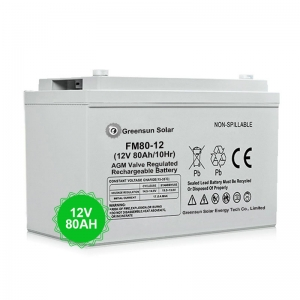 agm battery 80ah